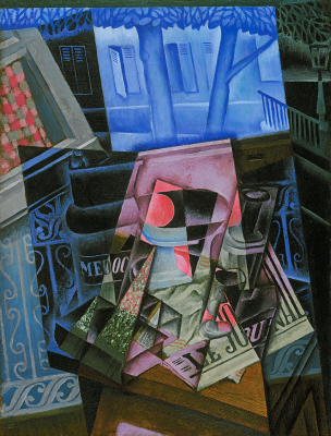 web_Juan Gris, Still Life before an Open Window, Place Ravignan, 1915, Philadelphia Museum of Art, The Louise and Walter Arensberg Collection, 1950